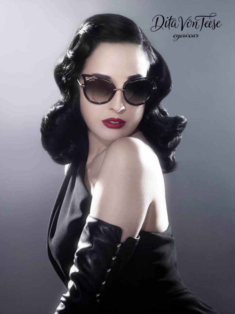 DITA VON TEESE INKS DEAL WITH DITA EYEWEAR AND FRAMES ...