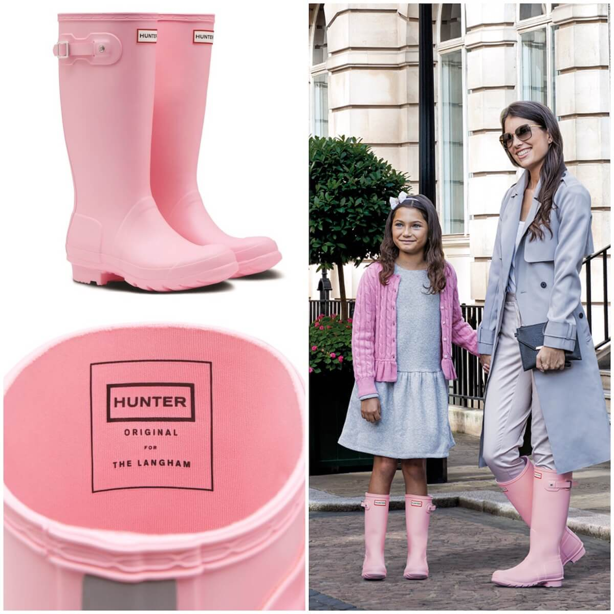 Langham Pink Hunter Boots Launch at The