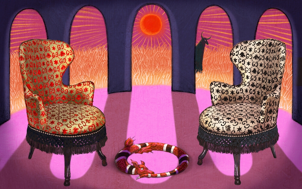 3eeb9a7baab GUCCI decor evolves with new styles and pieces - Melissa Hoyer