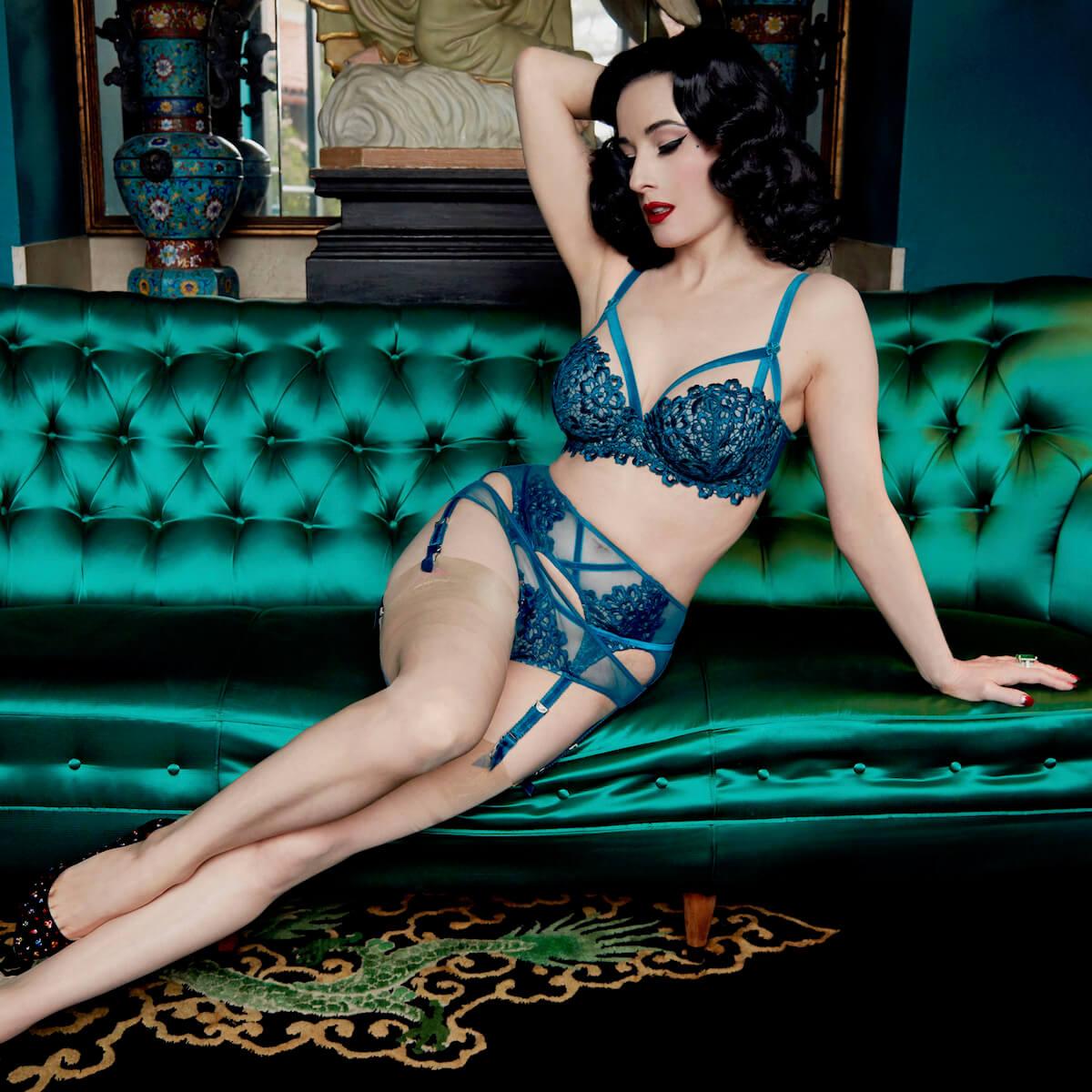 ff52bce6a46 Lavish lingerie from Dita Von Teese - Melissa Hoyer