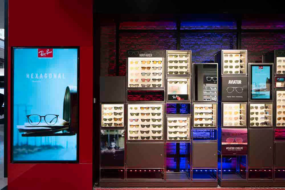 92677f8e01a Ray-Ban store opening with Golden Features - Melissa Hoyer