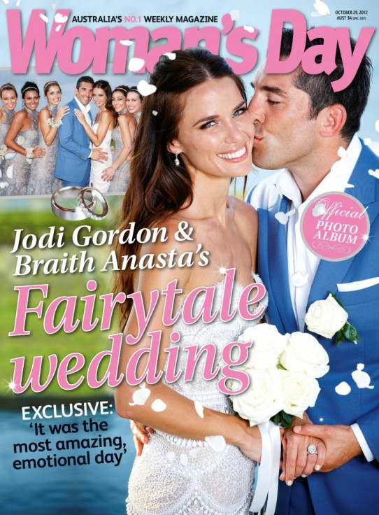How the J'Aton wedding dress of Jodi Gordon came to life . . .